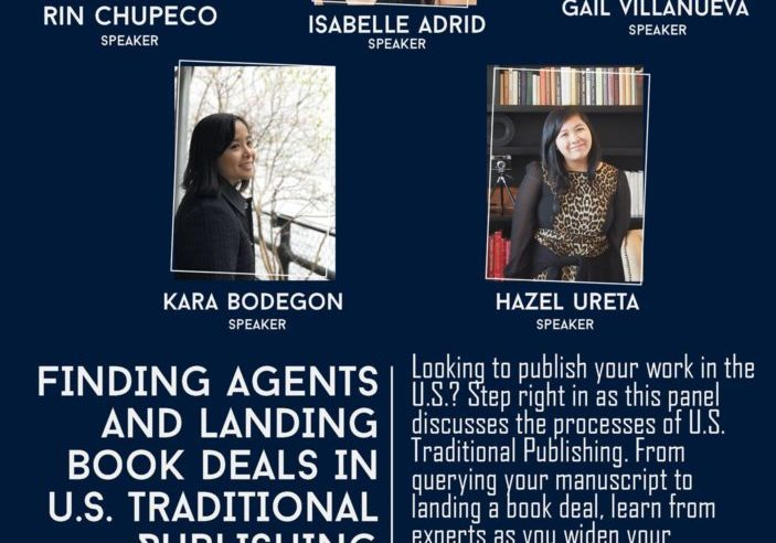 9th Philippine International Literary Festival - Finding Agents and Landing Book Deals in U.S. Traditional Publishing with Rin Chupeco Isabelle Adrid Gail Villanueva Kara Bodegon Hazel Ureta